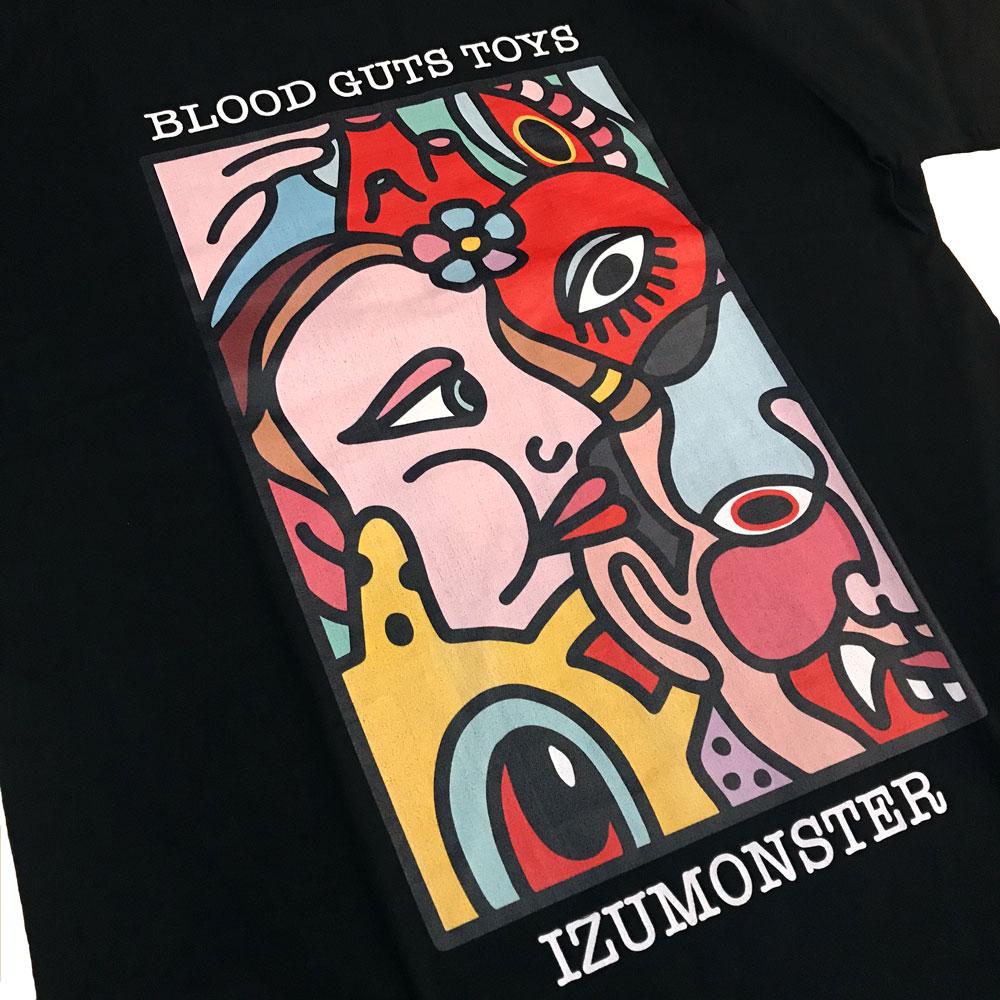 BLACKPEARLS x IZUMONSTER L/S Tee Black