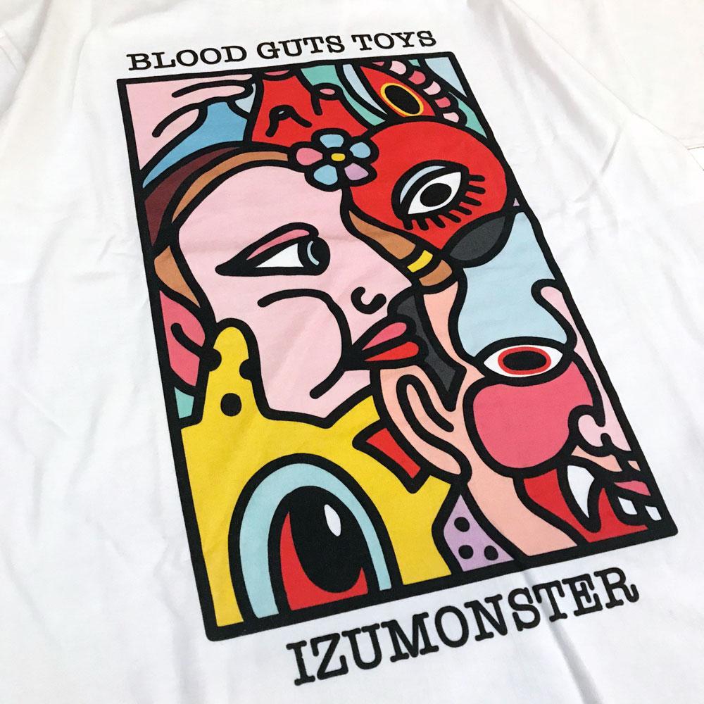 BLACKPEARLS x IZUMONSTER Tee White